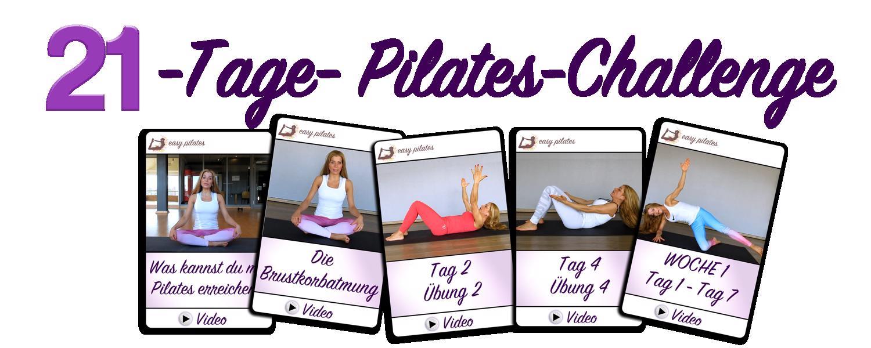 21 Tage Pilates Challenge